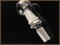 Plate-forme pétrolière 14.5 18.8 glas mâle adaptateur mâle et clou de verre ensemble pour tuyau d'eau fumer livraison gratuite