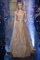2016 Dresses Evening Wear Applique Spaghetti Sleeveless Elie...