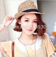 2014 New Summer Sun Hat for Women Straw Dress Hats Free Ship...
