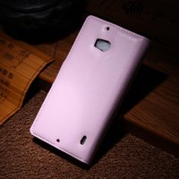 JF Litchi Wallet Leather 2 Credit Card Stand Leather case co...