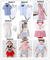 2016 Baby Boys Gentlemen Jumpers Bodysuits Casual Hat Dress ...