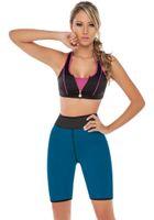 Women Ultra Sweat Enhancing Thermal Shorts Neoprene Compress...