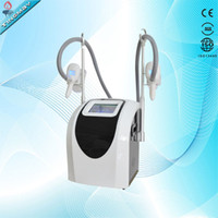 two handles work together cryo fat freezing slimming machine...