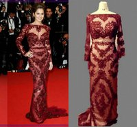Real Picture Cheryl Cole Zuhair Murad Cannes Celebrity Red C...