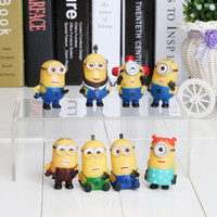 5cm 8PCS Set Despicable Me 2 Minions Figure Toy Retail With ...