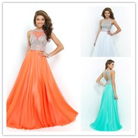 Prom Dresses with Crystal and Sequins 2015 New Collection Sh...