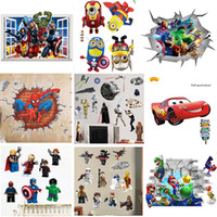 Mix Order Removable Cartoon Wall Stickers for Kids Nusery Ro...