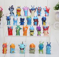 24pcs set 4. 5- 5cm Mini Slugterra PVC Action Figures Toys Dol...