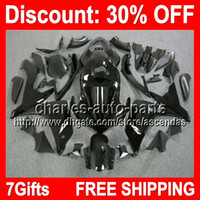 7gifts ALL Black Full Fairing Kit For YAMAHA YZF- R1 07- 08 YZ...