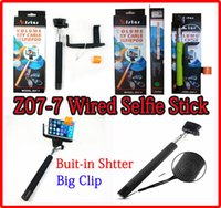 New Z07- 7 Monopod Extendable Wired Selfie groove pole Monopo...