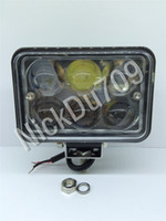 18W Automotive LED Flood Lights Lens Fog Lamp IP68 Waterproo...