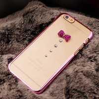 New Luxury Diamond Electroplate Cell Phone Cases For Iphone ...