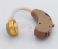 Распродажа !!! Цифровой слуховых аппараты позади уха Регулируемый усилитель звука 4 канала