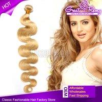 4pcs lot Blonde Human Hair Weave #613 Brazilian Body Wave Re...