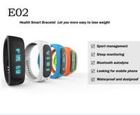 E02 Fashion Bluetooth Smart Bracelet Anti- Lost Sports Sleep ...