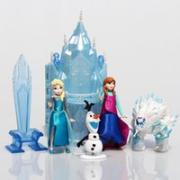 Frozen Princess Castle Ice Palace Throne Play Set Elsa Anna ...