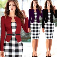 2015 New Summer Women Working Dresses Career Ladies Formal P...