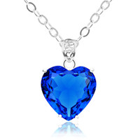 2PCS Lot Party Holiday Jewelry Gift Classic Lovely Heart Blu...