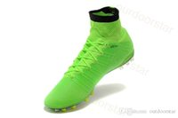 Hot Soccer Cleats 2015 New Football Shoes High Ankle Mercuri...