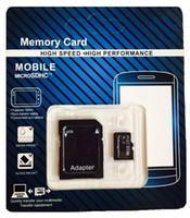 Tarjeta de 16 GB 32 GB 64 GB Micro SD tarjeta SD SDHC SDXC USH-1 Clase 10 TF tarjeta Micro + Adaptador SD con el envío libre del paquete al por menor