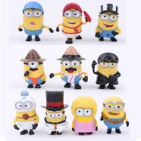 10pcs set Despicable Me 3 PVC toys doll minions Movie Charac...