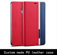 Para la caja del teléfono celular único Coolpad PU Ranura para tarjeta de la cubierta móvil personalizado para Coolpad F2 / F1 más / F1 / X7 / K3 / IVVI S6