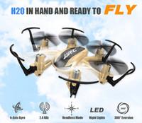 New Original JJRC H20 2.4G 4 canaux 6-Axis Gyro Mini Drone Hexacopter avec le mode CF / One Key retour RTF RC Quadrocopter RM3747