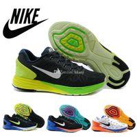 Nike Men' s Lunarglide 6 Running Shoes 100% Original Che...