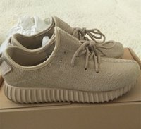 Final Perfect 2016 New 350 Boost Shoes Oxford Tan Moonrock W...