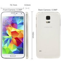Remis à neuf d'origine i9600 Samsung Galaxy S5 G900F G900V G900A G900T G900V Quad Core 2 Go / 16 Go 4G LTE