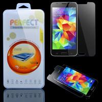 Pour Galaxy S6 S7 S3 S4 S5 Note 3/4/5 Immobilier Prestige en verre trempé Film de protection écran anti-déflagrant Pour Samsung Note4