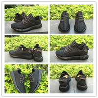 Authentic Kanye West 350 Boost Low Pirate Black Men' s S...