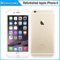 Original Unlocked Apple iPhone 6 Teléfonos Celulares 4.7'IPS 1GB RAM 16/64 / 128GB ROM GSM WCDMA LTE iPhone6 móvil remodelado teléfono 002863