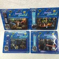 Cartoon Star Wars Purse Wallet And Watch Sets Kids Childrens...