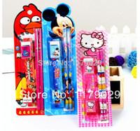 free shipping 3000pcs , Creative Kids school stationary sets,...