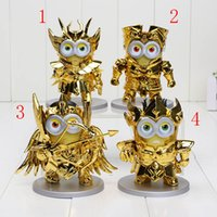 Despicable Me 10cm minions Cosplay Gold Saint Seiya Sagittar...