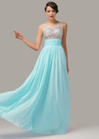 Grace Karin Floor Length Sheer Back Sleeveless Chiffon Prom ...