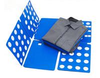Magic Convenient Multi- colored Clothes Folder Flip Fold Fold...