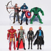 50 sets Marvel The Avengers Super Heros Action Figure Hulk+ C...