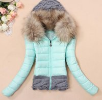 2014 winter autumn new thickening hood short design wadded l...