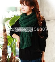 New Fashion Wool Thick Scarves for Winter Fashion Scarves