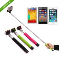 Rotary extendable handheld selfie monopod built in bluetooth...