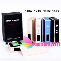 High Quality KVP BOX MOD KVP Mechanical Mods 100W 120W 150W ...