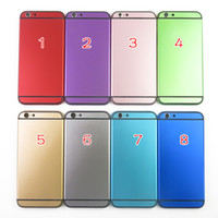 New Style For iPhone6 Aluminium Back Housing Cover With Side...