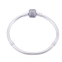 Bricolage Style 925 Sterling Silver Beads Charms Chaîne Serpent Pour Pandora Bracelet Bracelet Européen Bracelet Accessoires