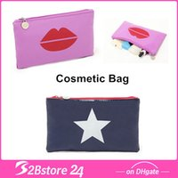 Cute Candy Color Cosmetic Bag Waterproof Makeup Bag Coin Cas...
