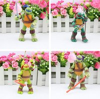 TMNT Teenage Mutant Ninja Turtles movable action Figures PVC...
