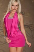 Sexy Women' s Lady' s Club Wear Dresses with Rhinest...