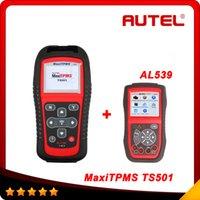 100% Original Autel MaxiTPMS TS501 TPMS Tool with OBDII Adap...