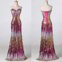 Grace Karin Sexy Sequins MERMAID Bridesmaid Formal Wedding P...